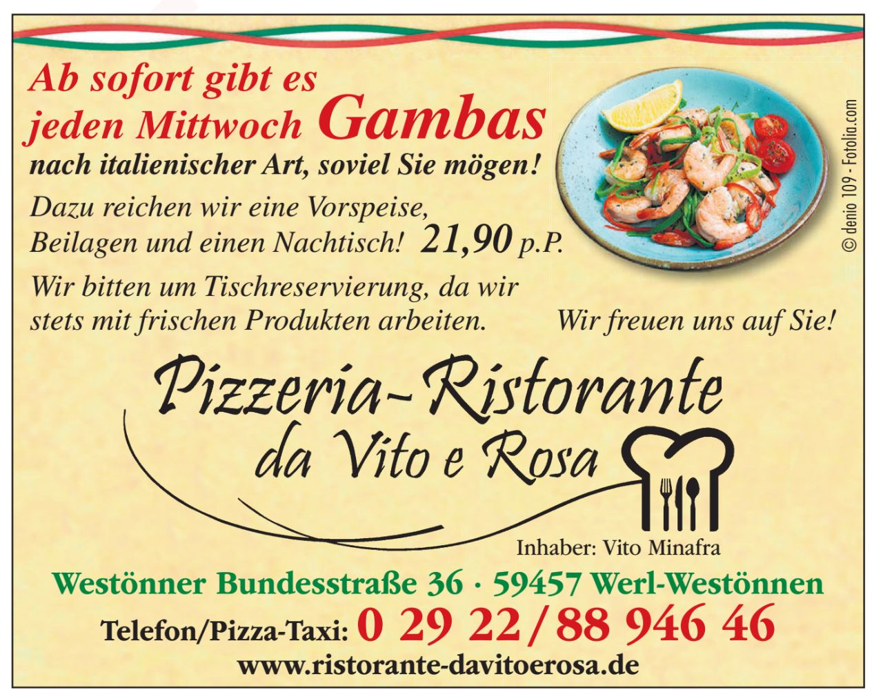 Gammas Aktion Resorante Da Vito E Rosa